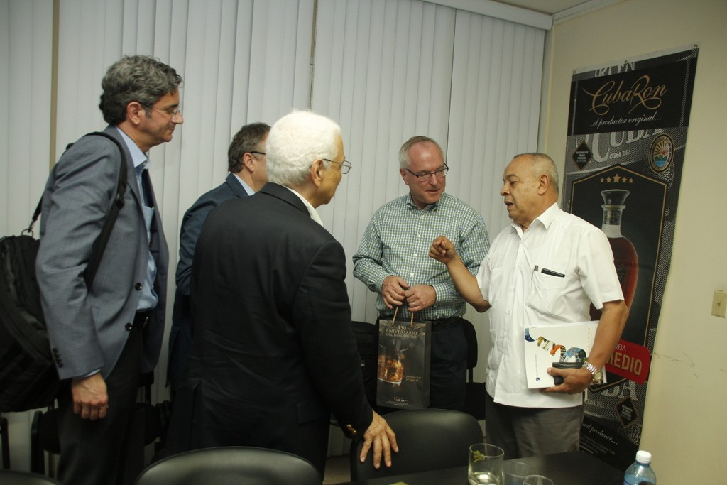 Cuba Ron receives an US firm