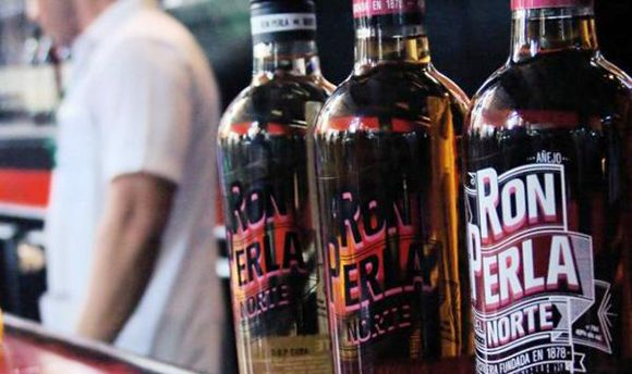 Perla del Norte Rum is reinserted in Cuban market