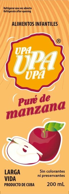 manzana color upa 200 ml